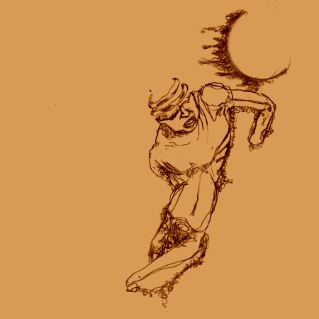 砂漠のダンス