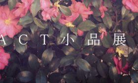 2015/04/21(tue) – 05/03(sun) ACT小品展 2015